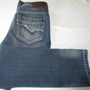 Men's Straight Fit Stretch Jeans By Black 29/30